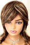 Gigi Ombreli Kahverengi Uzun Fiber Peruk