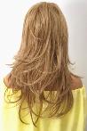Barbara Dore Sarı Tarz Uzun Fiber Sentetik Peruk
