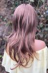 İrina Kahverengi Uzun Sentetik Peruk